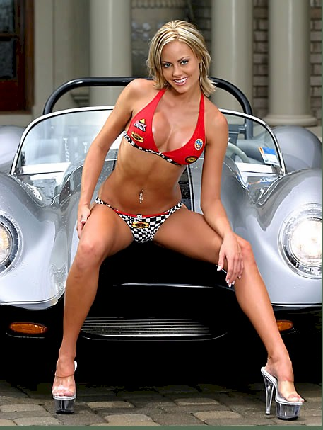 The most hot wallpapers of car show girl