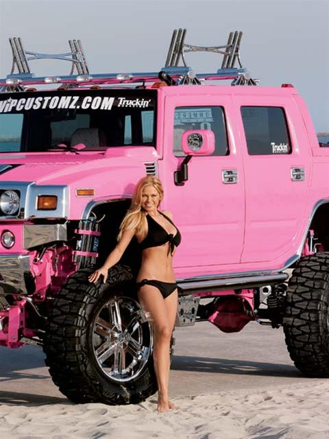 Hummer Hotties Muscle Car Babes